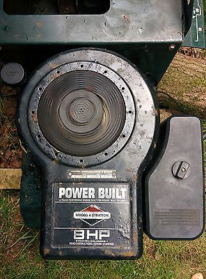 8HP BRIGGS and STRATTON ENGINE RIDE ON