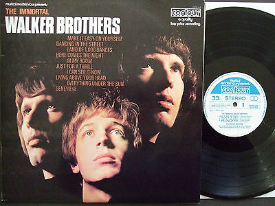 The Immortal Walker Brothers compilation vinyl LP Excellent condition