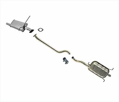 Middle Muffler w Extension Pipes for Nissan Pathfinder 96-00 Infiniti QX4 97-00