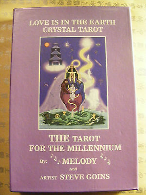 Love Is In The Earth Crystal Tarot & Book....rare...