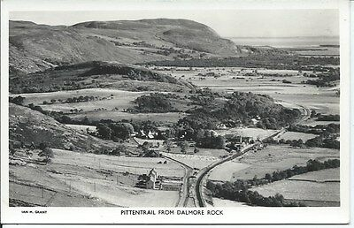 PITTENTRAIL from Dalmore Rock RP Sutherland Postcard