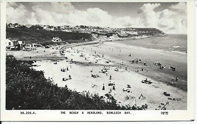BENLLECH Bay Postcard Holiday RP Anglesey
