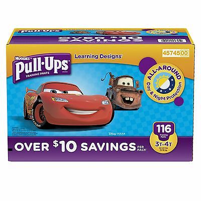 Huggies Pull Ups Learning Designs Training Pants for Boys Size 3T-4T / 116 ct.