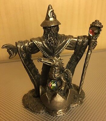 The PROTECTOR OF THE YOUNG 3097 Roger Gibbons Fantasy Myth Crystal Figure