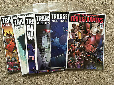 Transformers 50 - 54 plus Till All Are One issue 1! NM! Free P&P!