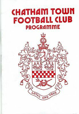 Chatham v Ruislip - Southern League Southern Section - 1987/88