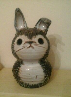 Briglin Pottery money box,   large rabbit.