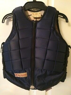 Racesafe RS2000 Body Protector Navy Child Medium.