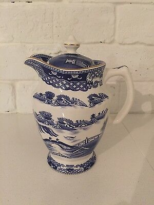 Vintage Ringtons Newcastle Maling Jug Willow Pattern by Wade