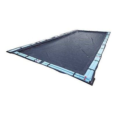 Blue Wave BWC748 Rectangular Navy Blue Winter Cover In Ground Pool 16x36