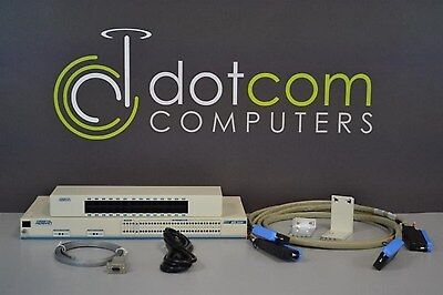 Adtran MX2800 DS3 Redundant AC w/ Patch Panel 4205291L6 1205288L2 1202289L1