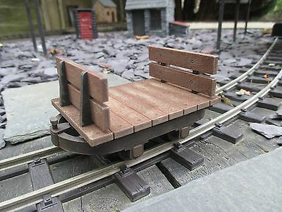 Sm32/16mm scale, Bolster Chassis 'Flat Base with Ends', Complete Kit, 32mm,,,,