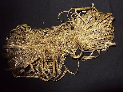 Antique Gold Braided Passementerie Trim 54 ½ yards