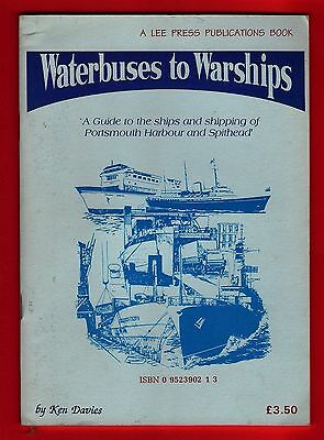 Booklet - Waterbuses to Warships - Guide to Ships of Portsmouth Harbour: 1994