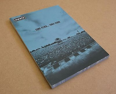 OASIS Time Flies... 1994-2009 UK promo only notebook