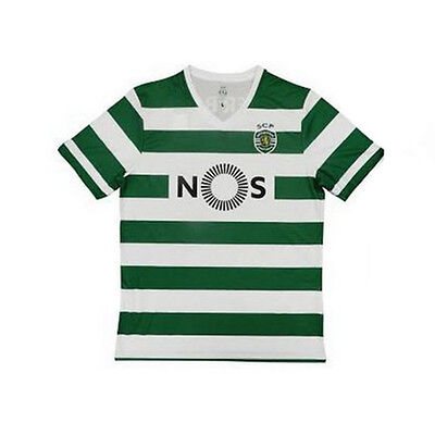 Sporting CP Portugal Official Licensed Replica Home Jersey 2016-2017