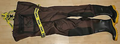 Vass 305 Breathable chest waders size 9