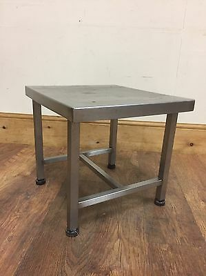 Small Commercial Stainless Steel Square Catering Table