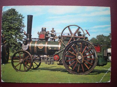 Postcard Rp Haulage Traction Engine Wallis & Stevens Road Locomotive D218