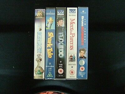 video films. VHS Tapes x 5 Various.
