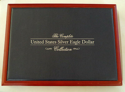 1986-2016 American Eagle Silver Dollar Set, All 31 Coins in Quality Display Box