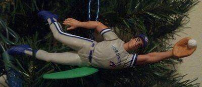 Roberto Alomar Diving Catch Toronto Blue Jays Baseball Christmas Tree Ornament