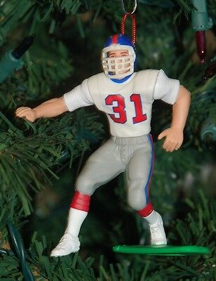 Jason Sehorn New York Giants White Jersey Christmas Tree Ornament NFL Keepsake