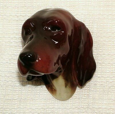 VINTAGE Dog 3D WALL PLAQUE - LABRADOR/RETRIEVER Made in Western Germany