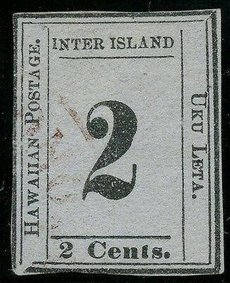 Hawaii #18 Position 5A Type X Position 10 -- Vf -- With Psag Cv $3,500 Wlm2633