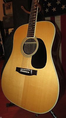Vintage 1977 Takamine F-360 S Dreadnought D-28 Copy Acoustic Guitar w/ Case Nice