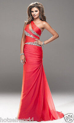 Cocktal Bridesmaid dresses Wedding Party Formal Evening Prom Dress Size 14 Stock