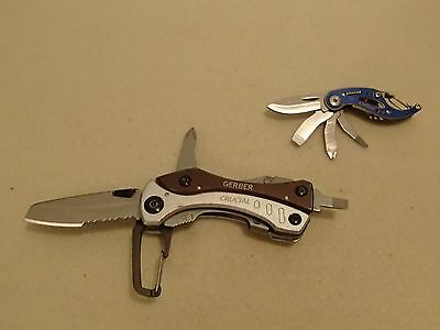 Gerber Crucial Multi-tool and Airfoil Knife