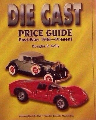 POST-WAR DIE CAST VALUE GUIDE COLLECTORS BOOK Corgi Dinky Matchbox Solido +++