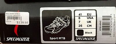 Specialised Cleated bike shoes (and Shimano pedals) size 41eu 8usa