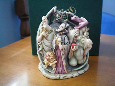Harmony Kingdom Disney Wicked Ways Villains Marble Resin Box Figurine NIB