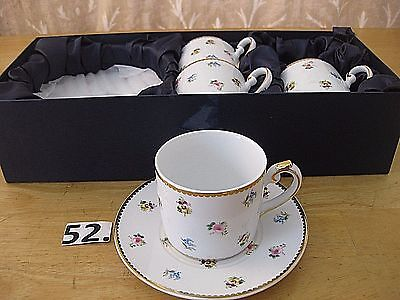 godinger co-ROSEBUD-CUP AND SAUCER SET WITH BOX