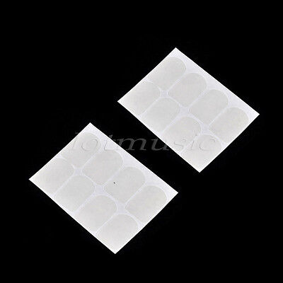 16 Mouthpiece Patches Pads Cushions Sax Clarinet Mouthpiece Patches Transparent