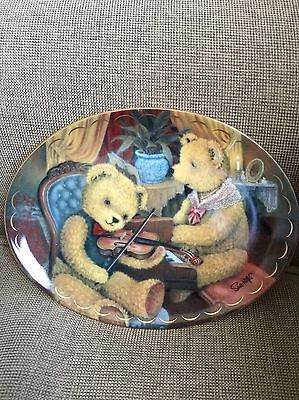 Franklin Mint collectors Plate: A Musical Evening