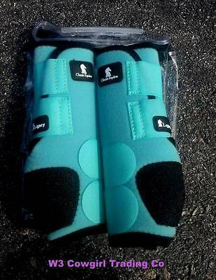 New Classic Equine Front Legacy Boots Mint S,M,L