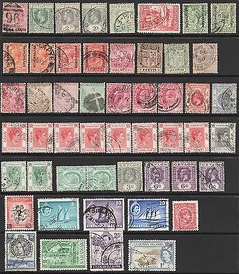 Nice Select British Commonwealth Collection VF Used