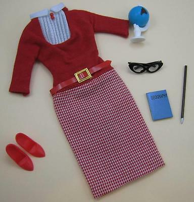 Vintage Barbie Repro/reproduction-#1622 Student Teacher Fashion-Mint
