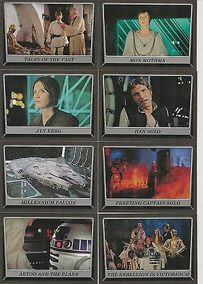 Star Wars Rogue One Mission Briefing Black Base Card #83 Chief Bast