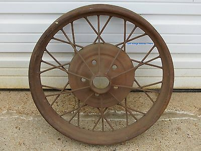 """1928 1929  Model A Ford 21"""" Wire Wheel"""
