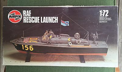 Airfix 1/72 RAF Rescue Launch - with resin crew