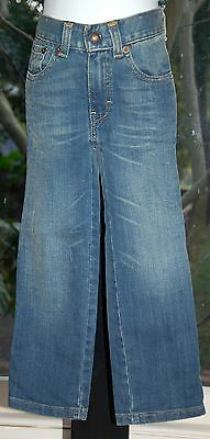 "LEVI'S ""Straight Fit"" Jeans - Faded Denim - Size 3 (Kids) - EUC As New"