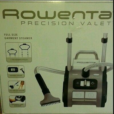 Rowenta IS9100 Precision Valet Commercial Full Size Garment Steamer with Cord