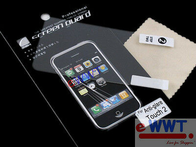 3x Anti Glare Matte Screen Protector +Cloth Set for iPod Touch 3rd Gen 3 UQAG017