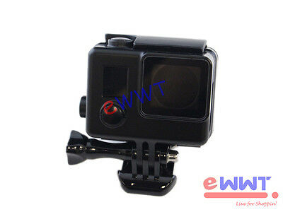 Black * Protective Camera Housing Case Shell Side Open for GoPro Hero 4 UQOS035