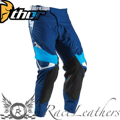 Thor Prime Fit Rohl Mx Motocross Motorcycle Dirt Bike Pants Blue Navy