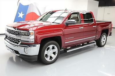 2016 Chevrolet Silverado 1500  2016 CHEVY SILVERADO LTZ CREW SUNROOF NAV LEATHER 17K #258174 Texas Direct Auto